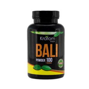 Bali Powder by Kratom Kaps 100gram Bottle