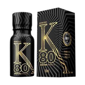 K 80 Kratom Liquid Extract Shot