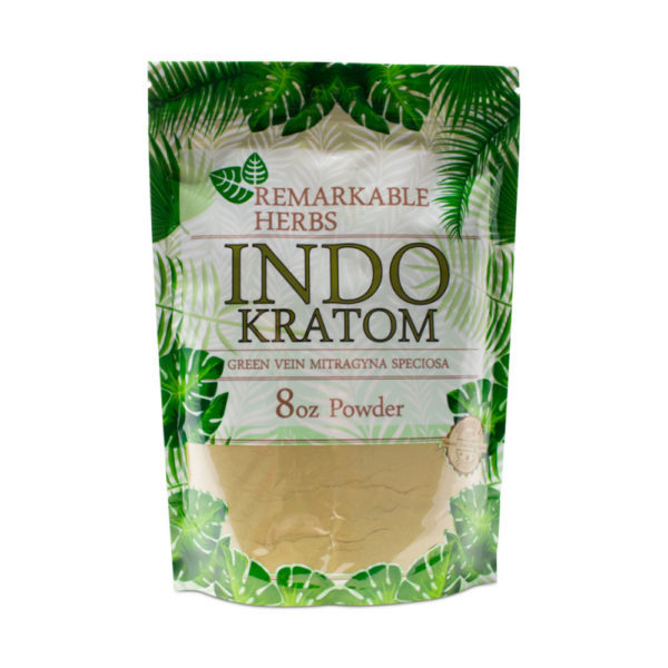 Remarkable Herbs Indo Kratom Powder - 8oz