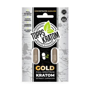 Topps Kratom - 2 Pack Capsules