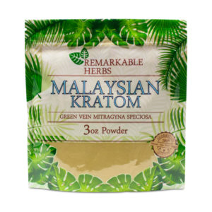 Remarkable Herbs Malay Kratom Powder 3oz